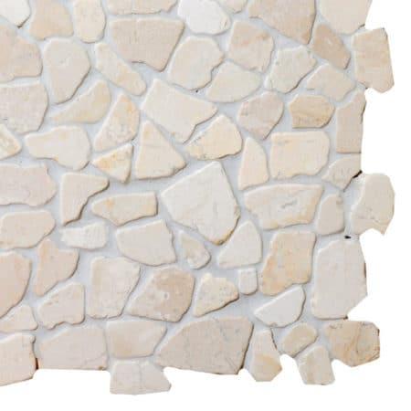Mosaic White marble 300x300mm