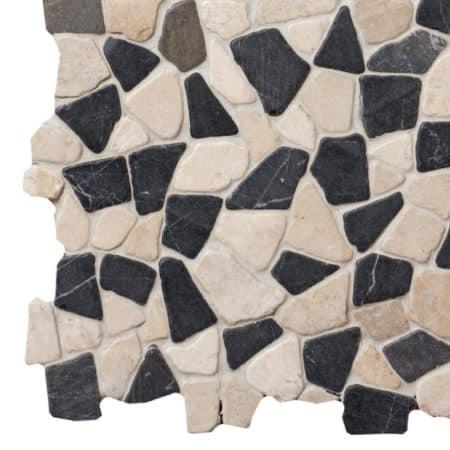 Mosaic Grey-White marble 300x300mm