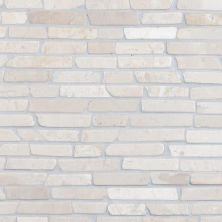 Stick White marble 300x300mm