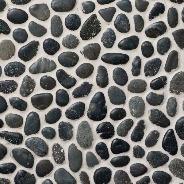 Pebble Black 300x300mm