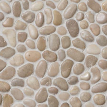 Pebble Asian Tan 300x300mm