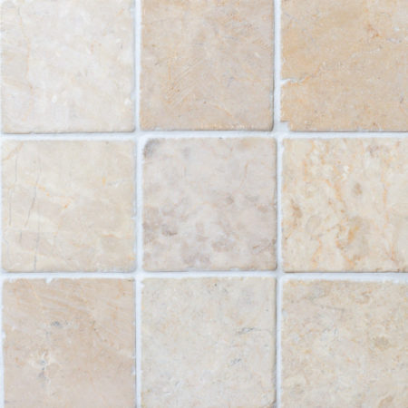 White marble 100x100mm