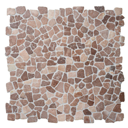 Mosaiik Kookospruun marmor 300x300mm