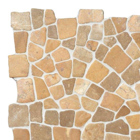 Mosaic Mustard marble 300x300mm