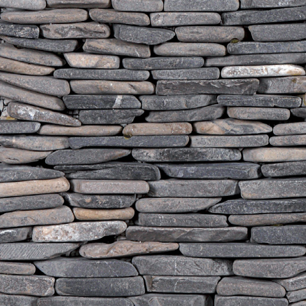 Standing Mosaic Grey 150x300mm