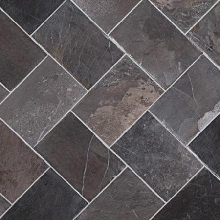 Herringbone Grey marble, 100x150mm