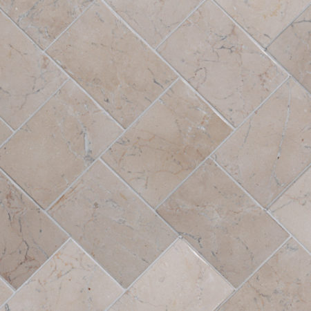 Herringbone White marble, 100x150mm