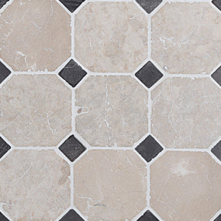 Klassikaline Muster Valge-Hall marmor, 100x100mm