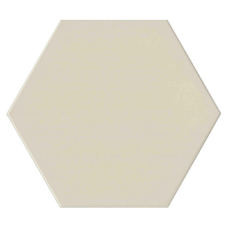 Hexagon White Porcelain 175x175mm