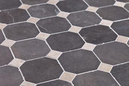 klassikaline muster Hall-Valge marmor, 100x100mm
