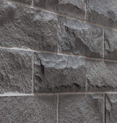 seina/fassaadi kivi Andesiit Hall, peiteldatud