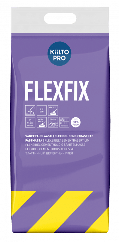 Kiilto Flexfix remontplaatimissegu
