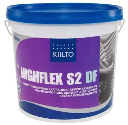 Kiilto HighFlex S2 DF Elastne, kuumakindel plaatimissegu